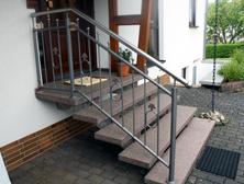 Treppengelaender für  Außen