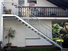 Stahltreppe, Außentreppe